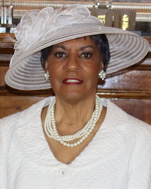 Deaconess Board Chairman Mrs. Rita Lett